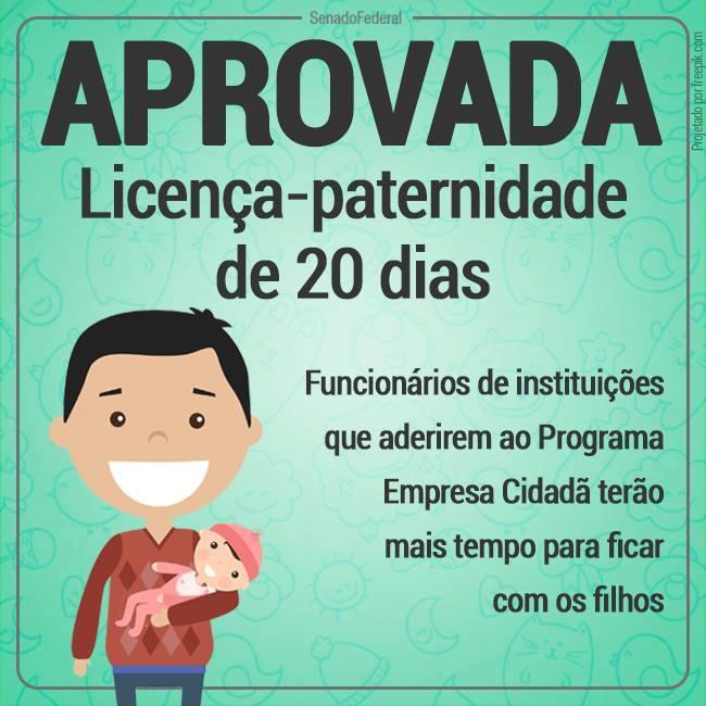 Prazo de Licença Paternidade Aumentado