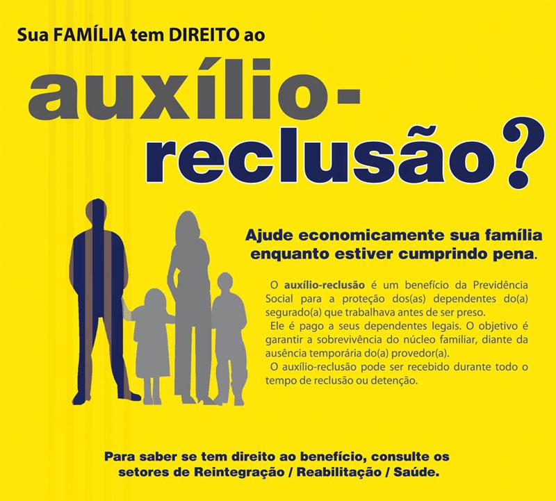 Resultado de imagem para auxílio-reclusão e salário-família