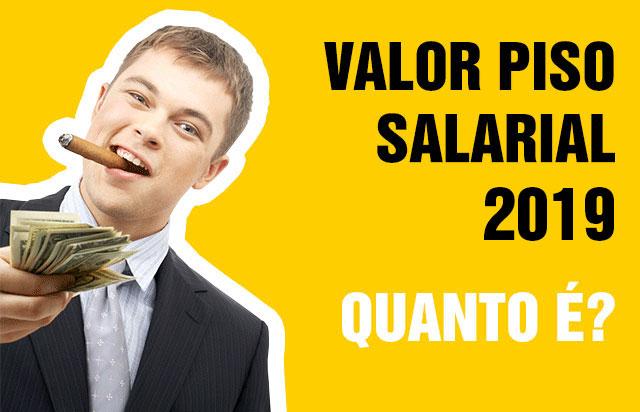 Piso Salarial 2019