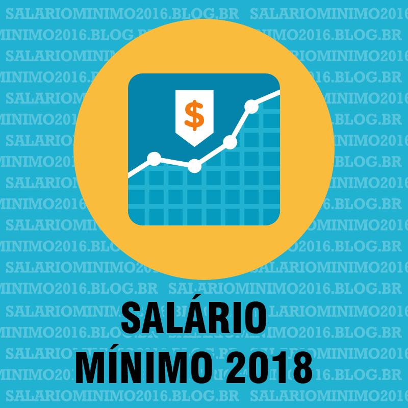 Salario mínimo 2018 Termos